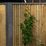 Edeslstahl-Bambus-Zaun
