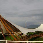 Bambus-Brücke von Jörg Stamm