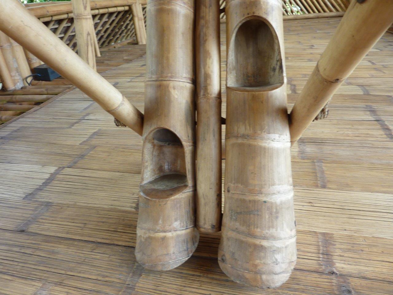 Bambus-Treppe aus Riesen-Bambusstäben CONBAM