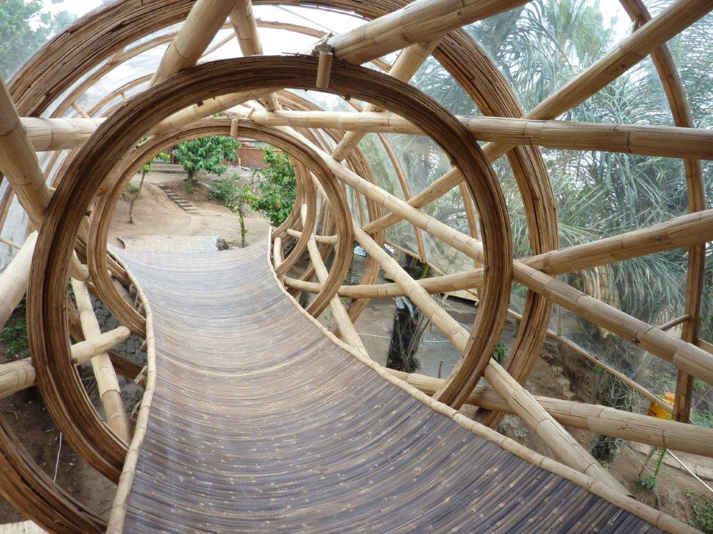 Bambusbrücke Bali CONBAM