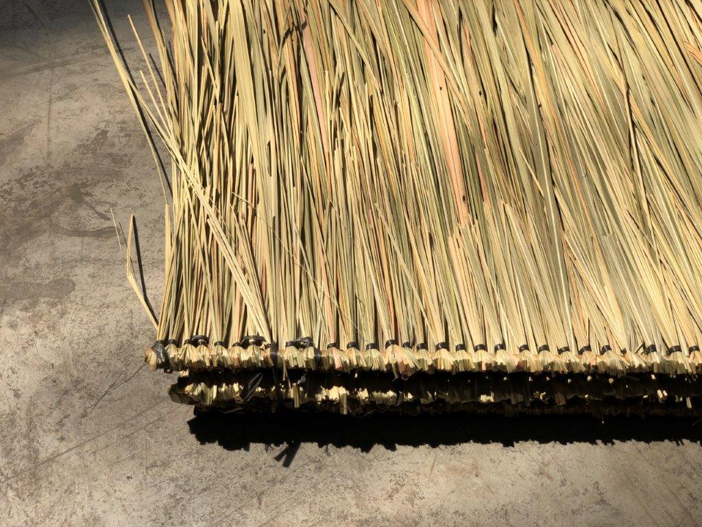 Palmenblätterdach vom Bambusspezialisten CONBAM