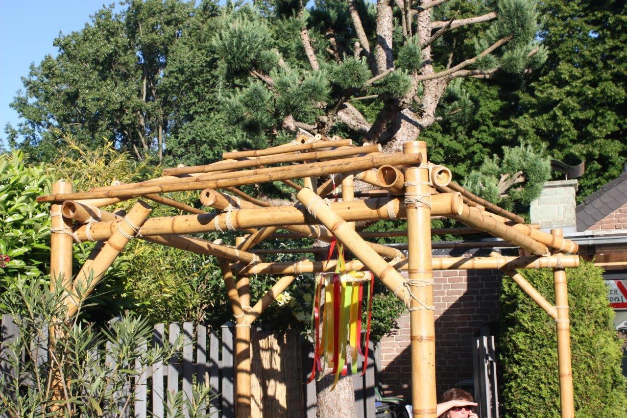 Pergola aus Bambus von CONBAM