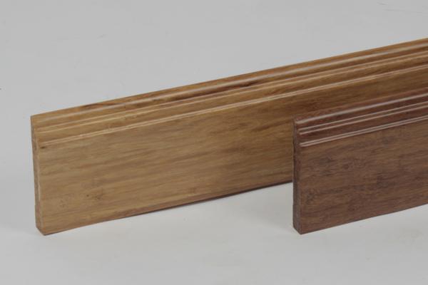 bambusfussleisten sehr massiv. Black Bedroom Furniture Sets. Home Design Ideas