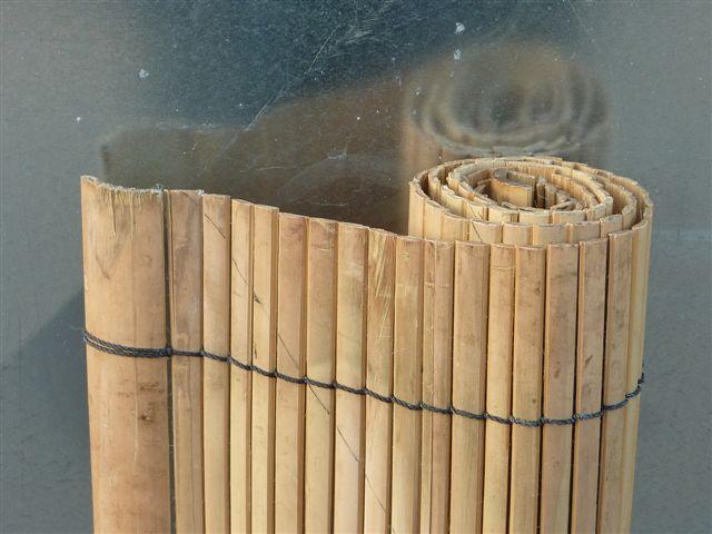 bambusrollo apus naturbelassen. Black Bedroom Furniture Sets. Home Design Ideas